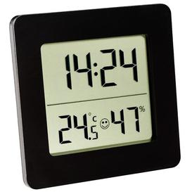 image-Digital Thermometer and Hygrometer Symple Stuff Colour: Black
