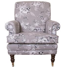 image-Pauline Armchair Lily Manor Upholstery: Bacio Redcurrant