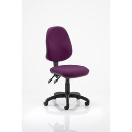 image-Desk Chair Symple Stuff Upholstery Colour: Aubergine