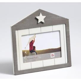 "image-Florine Picture Frame August Grove Size: 5"" x 7"", Colour: Grey"