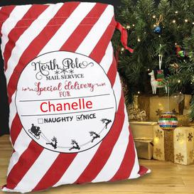 image-North Pole Special Delivery Christmas Sack