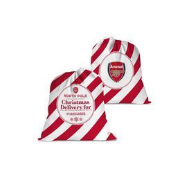 image-Personalised Arsenal FC Christmas Delivery Santa Sack
