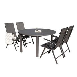 image-Geir Extendable Dining Set with 4 Chairs Sol 72 Outdoor