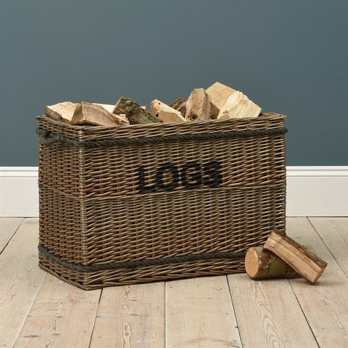 image-Extra Large Log Basket