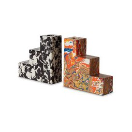 image-Tom Dixon - Swirl Stepped Bookends Set of 2
