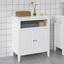 image-Koret 69 x 80cm Free Standing Bathroom Cabinet Brambly Cottage