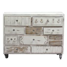 image-Bodner 11 Drawer Chest Bloomsbury Market Colour: White Washed