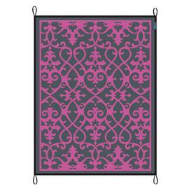 image-Chill Mat Picnic Rug Freeport Park Size: 0.5cm H x 200cm W x 270cm D, Colour: Dark Pink