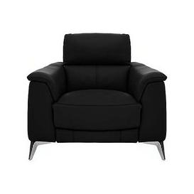 image-Odyssey Leather Recliner Armchair with Power Headrests- World of Leather
