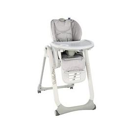 image-Chicco Polly2Start Happy Highchair, Silver