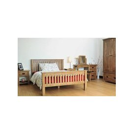 image-Rustic Oak Bedroom Set
