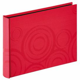 image-Photo Album Metro Lane Colour: Red, Size: 17cm H x 22cm W x 3cm D