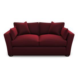 image-Aldeburgh Sofabed 3 Seater Sofabed in House Velvet- Claret