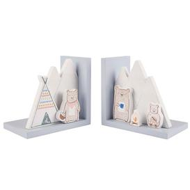image-Bear Camp Bookends Sass and Belle
