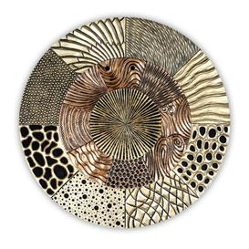 image-Glorius Wall Object Wooden Wall Art In Gold