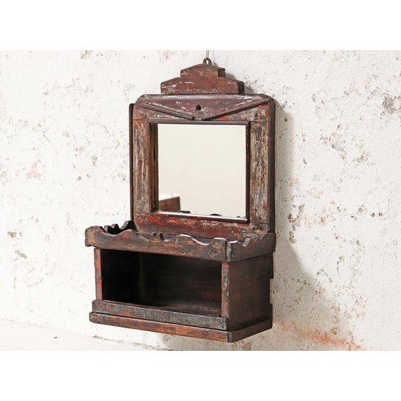 image-Rustic Bathroom Mirror  Medium