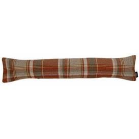 image-Dehaan Fabric Draught Excluder Union Rustic Finish: Burnt Orange