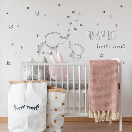 image-Tiny But Mighty Wall Stickers Grey