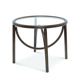 image-Mila Bentwood Coffee Table, Walnut Finish