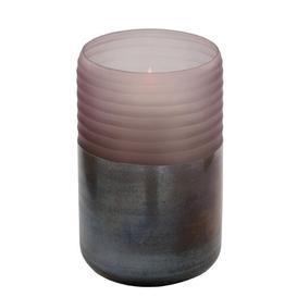 image-Leone Purple Glass Table Vase
