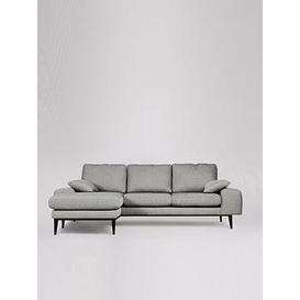 image-Swoon Tulum Fabric Left Hand Corner Sofa - House Weave