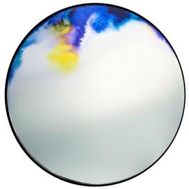 image-Francis Wall mirror - ├ÿ 45 cm by Petite Friture Blue