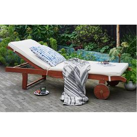 image-Parsons - Sun Lounger with Wheels