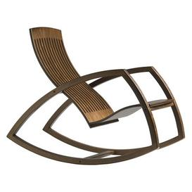 image-Gaivota Rocking chair - Rocking chair by Objekto Natural wood