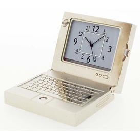 image-Table Clock Astoria Grand Finish: Chrome