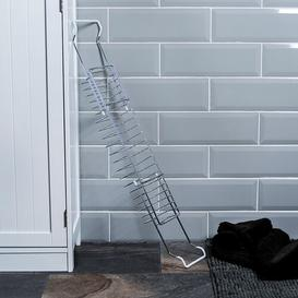 image-Extendable Metal Bath Rack Belfry Bathroom