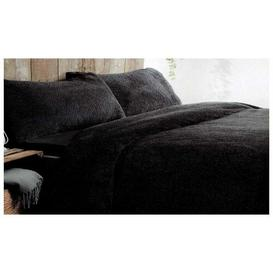 image-Shelton Duvet Cover Set Mikado Living Colour: Black, Size: Kingsize (230 x 220cm)