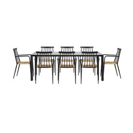 image-Juelz Rectangular 8 - Person 200Cm Long Dining Set