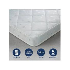 image-Fogarty Little Sleepers Anti Allergy Open Coil Mattress White