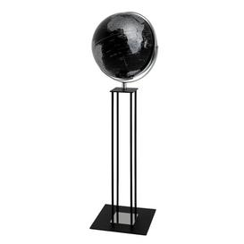 image-World Trophy Globe Ebern Designs Colour: Black