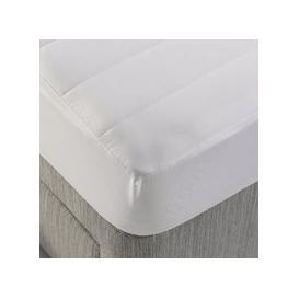 image-Dormeo Aloe Vera Mattress Protector White