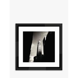 image-New York Chrysler Building - Framed Print & Mount, 45.5 x 45.5cm