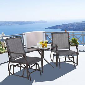 image-Masami 2 Seater Dining Set Sol 72 Outdoor