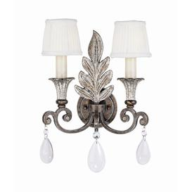 image-Coelho 2-Light Candle Wall Light Astoria Grand
