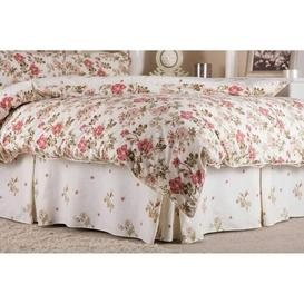 image-Deluca 150 Thread Count Ruffled Bed Valance Lily Manor