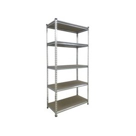 image-Boltless DIY Shelving Storage Unit 180x90x40cm