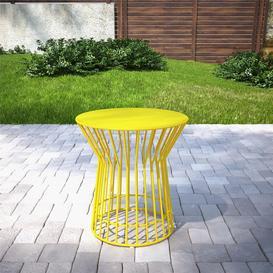 image-Cosco Outdoor Living Novogratz Roberta Side Table in Yellow