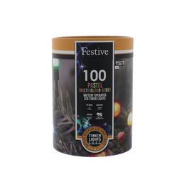 image-Pastel Berry String Lights Festive Size: 3cm H x 1020cm W x 3cm D