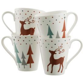 image-Christmas Reindeer Mug Set Belleek Home