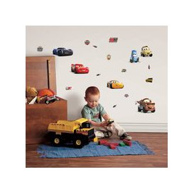 image-Disney Cars Wall Stickers Mutli Coloured