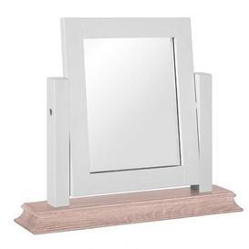 image-Rosa Painted Range 3 Drawer Dressing Table Mirror