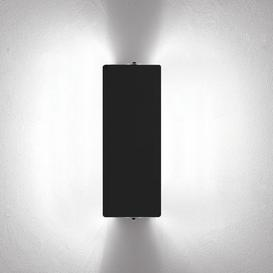 image-Wall light - with a dual LED swivelling panel / Charlotte Perriand, 1962 by Nemo Black