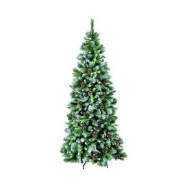 image-5ft Frosted Glacier Artificial Chirstmas Tree Snowtime