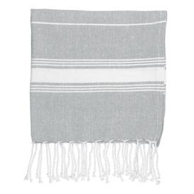 image-4 Piece Quick Dry Beach Towel Same-Size Bale Nicola Spring Colour: Grey