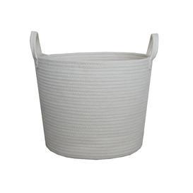 image-Cream Rope Basket Cream