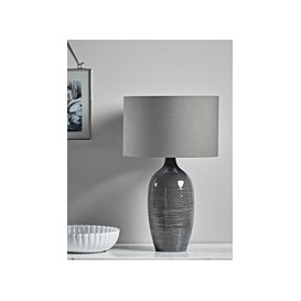 image-Sketch Ceramic Table Lamp